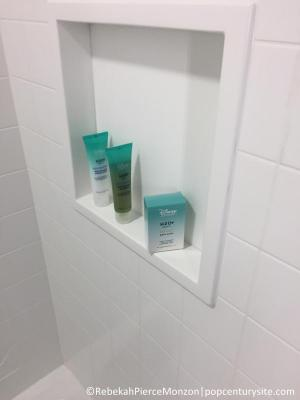 H20 products in shower